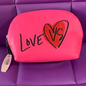 Victoria's Secret Cosmetic Bag Love VS NWT